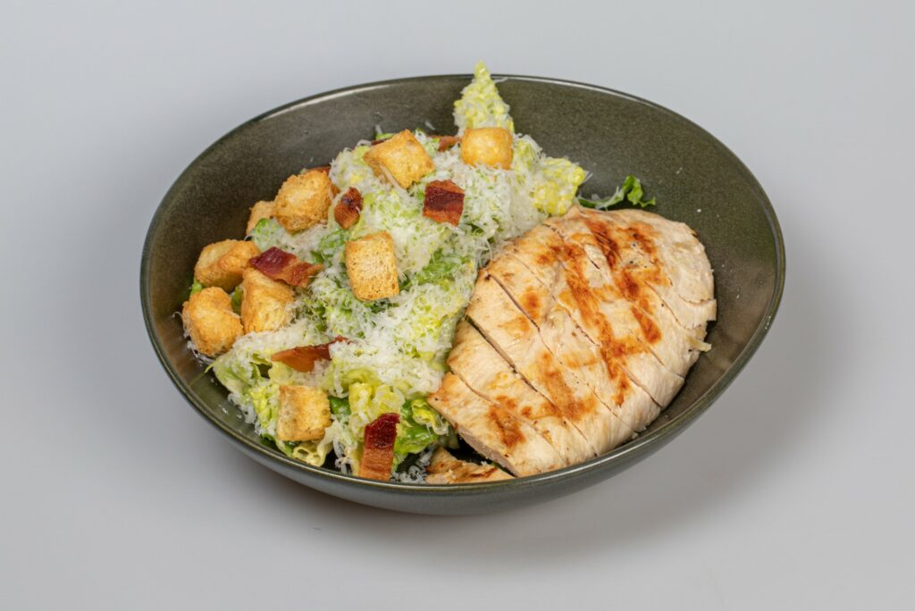 Caesar Salad & Grilled Chicken